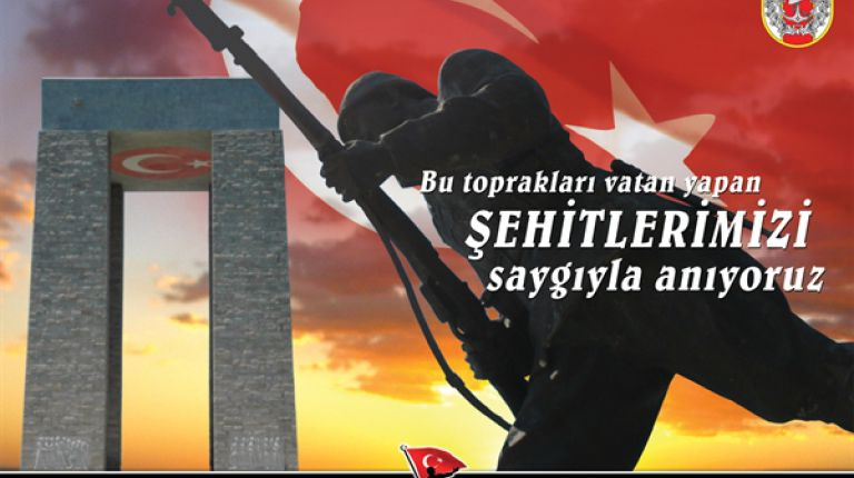 Başkanımız Nazım SEZER 18 Mart Çanakkale Zaferi ve Şehitler Günü dolayısıyla mesaj yayımladı.