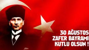 30 Ağustos Zafer Bayramı, Gazi Mustafa Kemal Atatürk önderliğinde milletçe kenetlenerek bağımsızlığımızın tescillendiği tarihimizdeki en önemli dönüm noktalarından birisidir. Bu zaferin kazanılmasında emeği olan Gazi Mustafa Kemal Atatürk, silah arkadaşları, şehit ve gazilerimizi rahmet ve minnetle anıyor, 30 Ağustos Zafer Bayramınızı kutluyoruz.