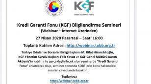 Kredi Garanti Fonu (KGF) Bilgilendirme Semineri