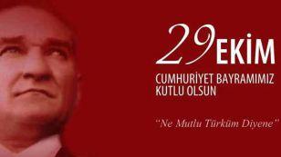 """Yönetim Kurulu Başkanımız Nazım SEZER, 29 Ekim Cumhuriyet Bayramı dolayısıyla yayımladığı mesajda, """"94'üncü yaşını kutlayan Cumhuriyetimiz bizi medeniyet yarışında en ileri taşıyacak ortak değerimizdir. Milletin iradesine duyulan saygı, en büyük erdemdir"""", dedi"""