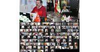 TOBB   Türkiye Odalar ve Borsalar Birliği  Başkanımız Sayın M.Rifat Hisarcıklıoğlu'nun katılımıyla düzenlenen Konya-Karaman-Aksaray Oda ve Borsaları Müşterek Yönetim Kurulu Toplantısına Yönetim Kurulu Başkanımız Ahmet Ulusoy ve Meclis üyelerimiz katılım sağladı. Toplantıda salgın sebebiyle üyelerimizin yaşadıkları yerel ve sektörel sorunlar  istişare edildi. Tarım, gıda, lojistik, zincir marketler, hammadde sorunu, hibe ve destekler ana gündem konuları oldu.  Toplantıda söz alan Yönetim Kurulu Başkanımız Ahmet Ulusoy, Bölgemizde ve İlçemizdeki Tarım ve Hayvancılıkla ilgili üyelerimizin ve üreticilerimizin Sorunlarını dile getirdi. TOBB   Türkiye Odalar ve Borsalar Birliği  Başkanımız Sayın M.Rifat Hisarcıklıoğlu 'na sorunların çözümü konusunda gece gündüz demeden çalıştığı için çok teşekkür ederiz.