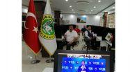 """Türkiye Odalar ve Borsalar Birliği'nin (TOBB) 76.-77. Genel Kurulu'na Yönetim Kurulu Başkanımız Ahmet Ulusoy, Meclis Başkanımız Nazım Sezer, TOBB Delegelerimiz Ali ÖNER ve Selami ERSOY katılım sağladı.   TOBB Başkanı M. Rifat Hisarcıklıoğlu, Genel Kurul sonrası sosyal medya hesabından yaptığı paylaşımda, """"81 il ve ilçelerden katılan tüm delegelerimize teşekkür ediyorum. Yapılması gereken çok iş var! Oda ve Borsalarımızla birlikte üyelerimizin sıkıntılarını takip etmeye, dile getirmeye ve çözüm üretmeye devam edeceğiz"""" dedi."""